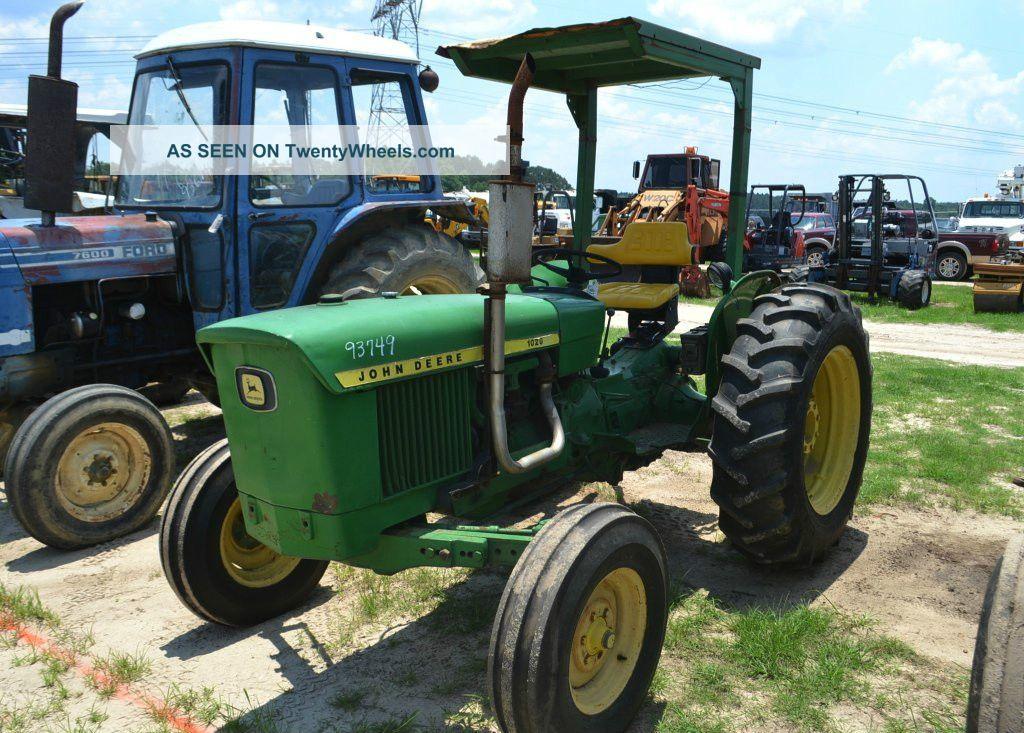 John Deere 1020 Engine : John deere tractor