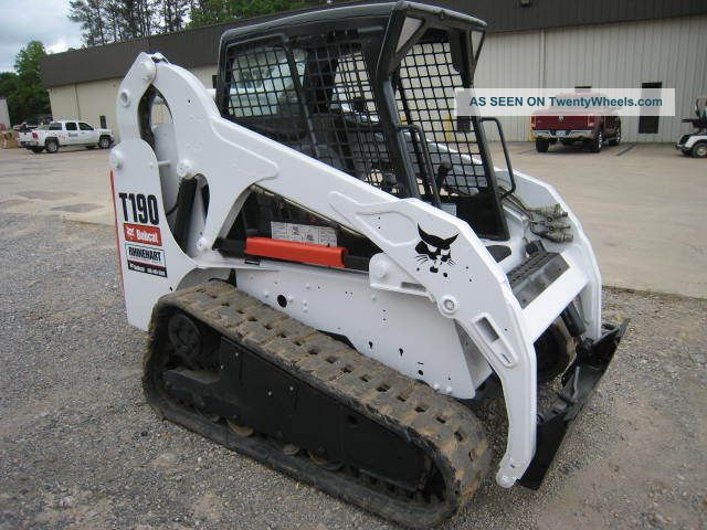 Bobcat Skid Steer Paint : Bobcat t track loader hours open cab paint