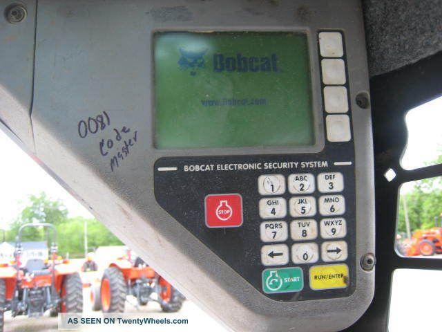 2007 bobcat t190 track loader 2187 hours open cab paint. Black Bedroom Furniture Sets. Home Design Ideas