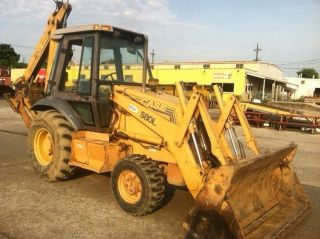 Case 580l Backhoe,  4wd,  Extendahoe,  4 N 1 Loader Bucket,  Cab,  Heat,  Ac photo