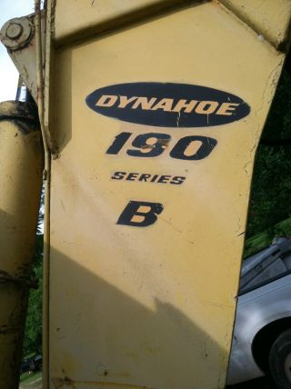 Bucyrus Erie Dynahoe 190 Series B Backhoe/loader photo