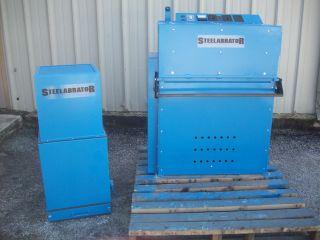 Steelabrator Airless Shot Blasting Machine / Steelabrator Model 202 Shot Blaster photo