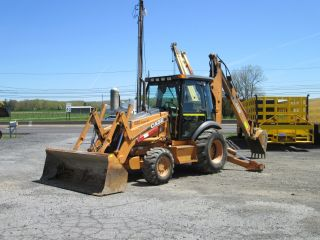 2006 Case 590 M Series Ii - 4x4 Loader Backhoe - Extendahoe photo