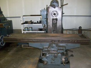 Cincinnatti Milacron No.  5 Milling Machine. .  Vertical/horizontal photo