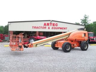 2003 Jlg 600s Boom Lift - 60 ' Manlift - 4x4 - Dual Fuel - Genie photo