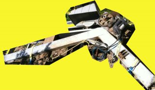 Ace 2000 Lb O Beam Electric Remote Control Davit Boat Lift Crane /pedestal 8 ' Out photo