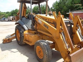 1999 Case 580l Series Ii Backhoe Loader photo