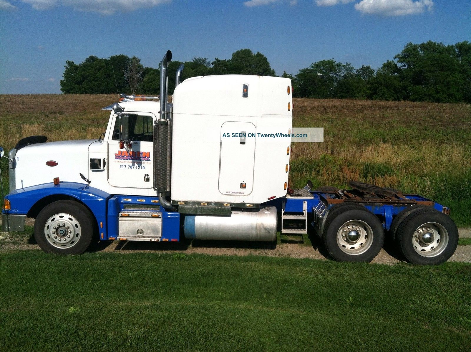 Tractor Challenger 377 : Peterbilt semi may take best offer