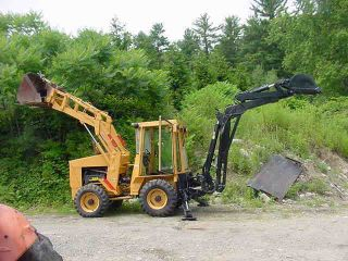 Holland Lb - 620 Articulating 4x4 Backhoe Loader 3713 Hrs Diesel Erops photo