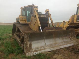 1998 Caterpillar Cat D6r Lgp Dozer Crawler Tractor Cab A/c Ready For Work photo