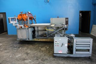 25 Ton F.  L.  Smithe Model Php - 700 Clicker Die Press,  S/n 141 photo