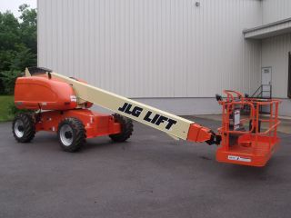 2007 Jlg 600s Aerial Manlift Boom Lift Man Boomlift Painted With Skypower photo