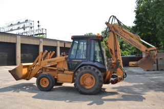 1995 Case 590sl 2w/d Tractor/loader W/ Etendahoe photo