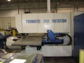 Trumpf Trumatic 240 Rotation Cnc Punch photo