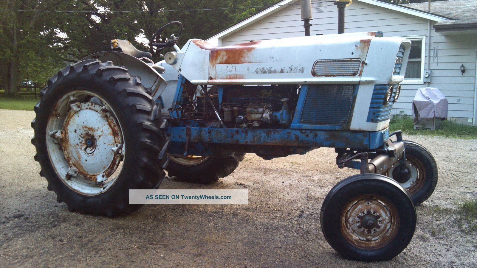 Ford commander 6000 diesel tractor tractors photo