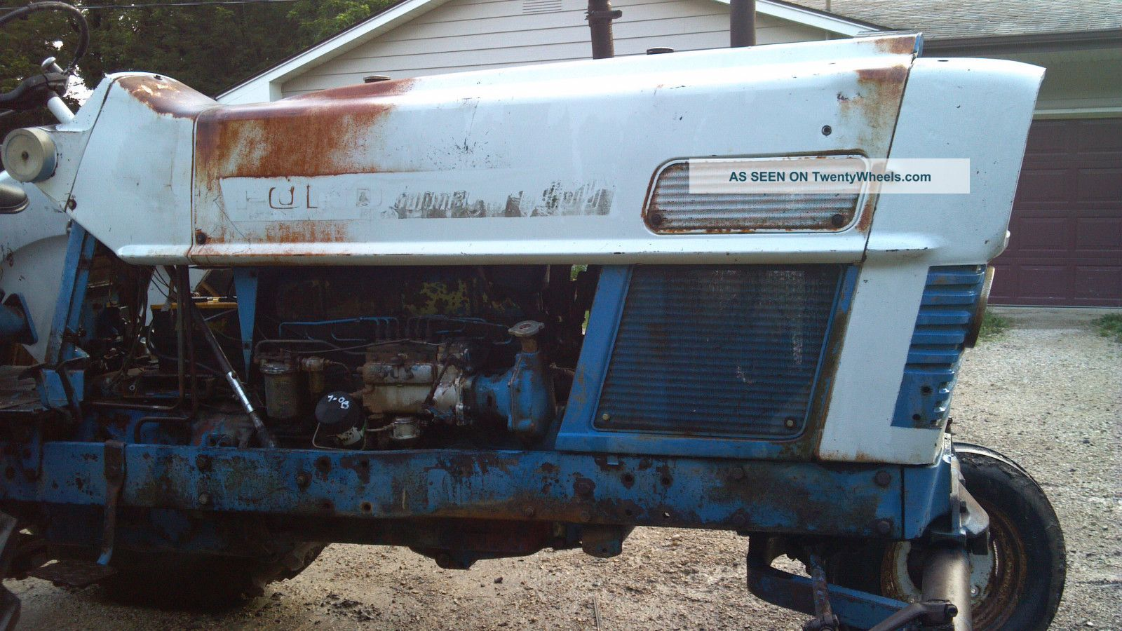 Ford commander 6000 diesel tractor tractors photo 1