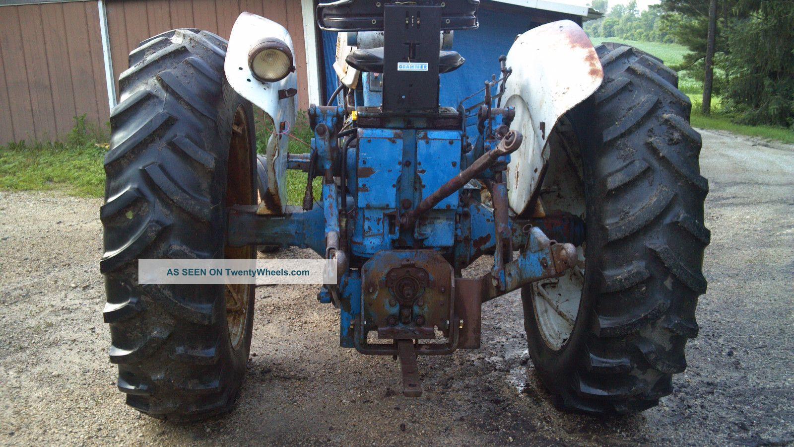 Ford 6000 Diesel Tractor : Ford commander diesel tractor