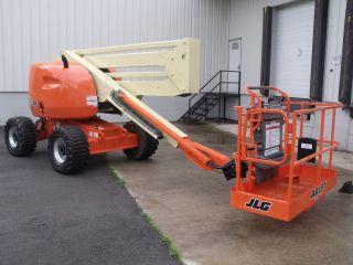 2006 Jlg 450a Aerial Manlift Boom Lift Man Articulating Boomlift 45 ' Lift photo