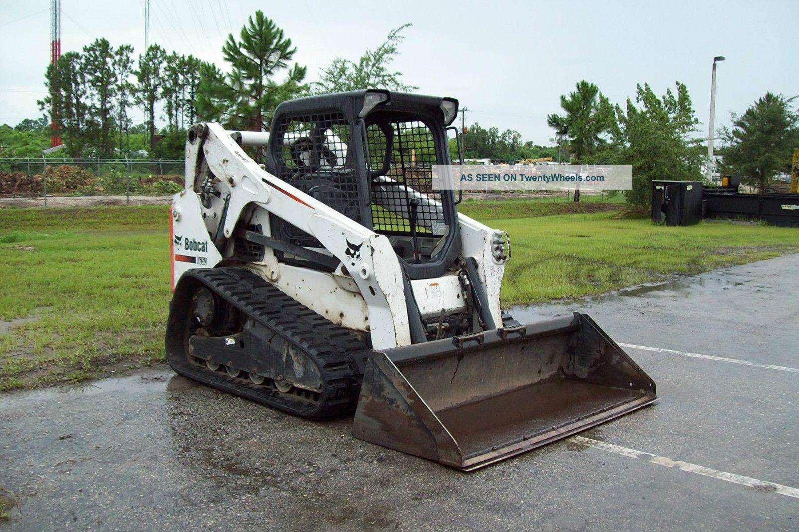 Bobcat Skid Steer Track Loader : Bobcat t track loader tracks sprockets lifts
