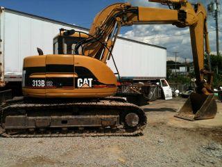 Cat 313b Sr Excavator photo