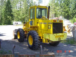 1989 John Deere 444ewheel Loader 2800 Hours photo