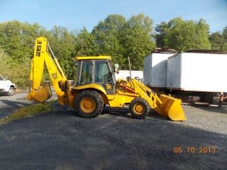 Jcb 215e 93 Backhoe photo