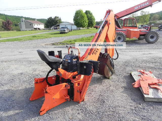 Kubota Backhoe Attachment : Bradco backhoe attachment for kubota m series tractor