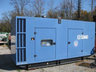 2009 Sdmo 550kw Generating Set,  Very Little photo