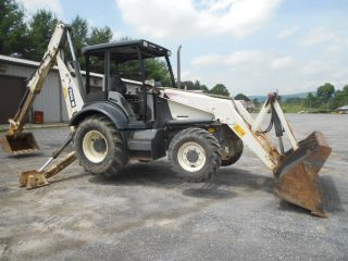 Terex 760 Backhoe Loader 2002 W/only 1273 Hr,  4x4,  Extend - Dipper,  36