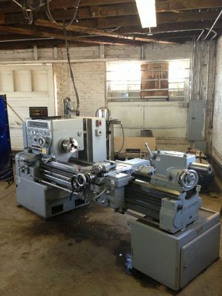 Leblond Heavy Duty Lathe,  Machine Shop,  Toolroom,  Machinist,  Tooling photo