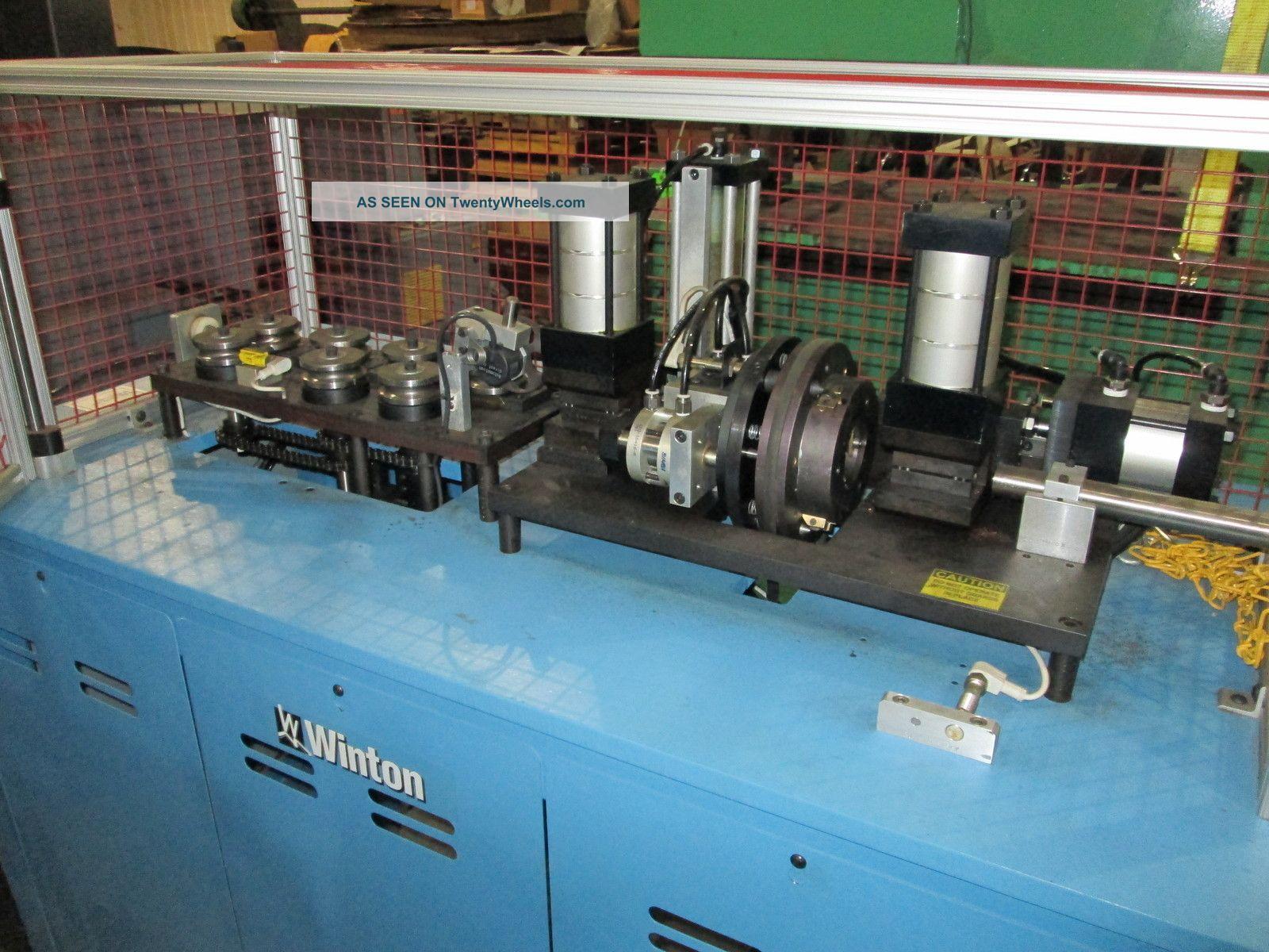 Winton Ctl - 23pa Tube Cutoff Machine 892 Metal Bending Machines photo