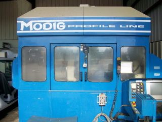 Modig Profileline Md 7200 Cnc Extrusion Mill Machining Center 1998 photo