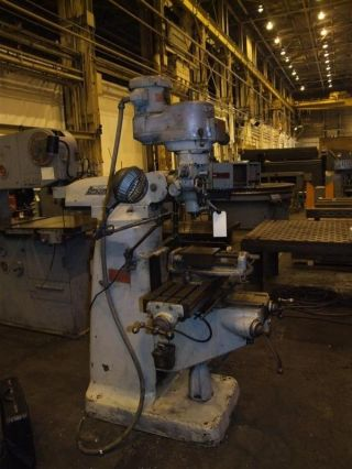 2 H.  P.  Series I Bridgeport Variable Speed Vertical Mill photo