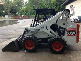 Bobcat 873 Skid Steer photo