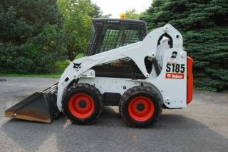 2011 Bobcat S185 Skid Steer Loader,  2 Speed,  High - Flo,  Heat - Ac,  Bob - Tach photo