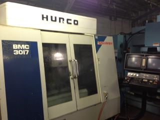 Hurco Bmc3017 Vertical Machining Center Cnc Mill W/ Ultimax Control 1998 photo