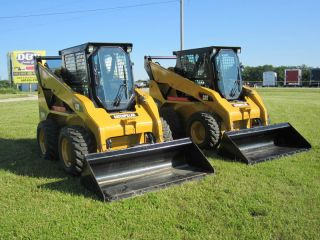 2012 Cat 252b3 Skid Steer Loader,  Enclosed Cab With Heat, ,  2 Available photo