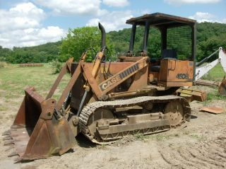 Case 450b Loader Dozer With Clam Bucket And Ripper photo