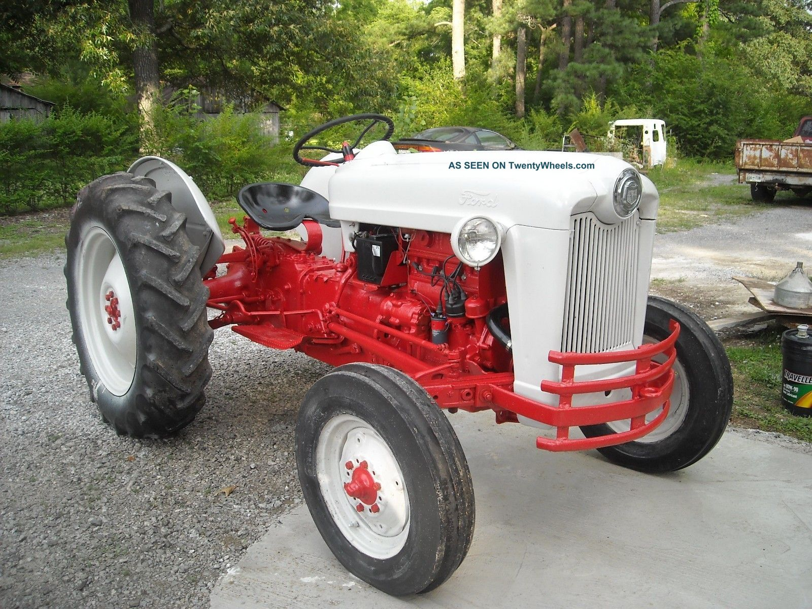 1954 Ford Golden Jubilee Naa Tractor