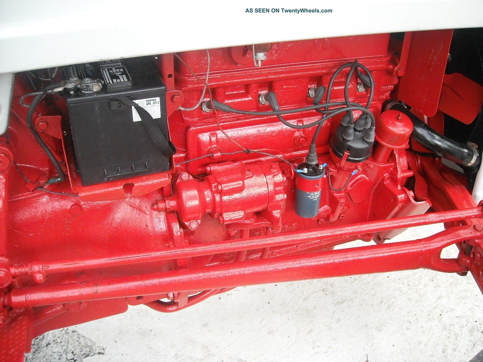 Ford Jubilee Naa 1954 Tractor Looks And