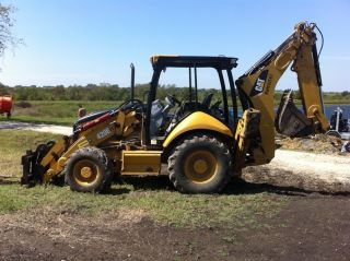 Caterpillar 420e It E Stick 2007 photo
