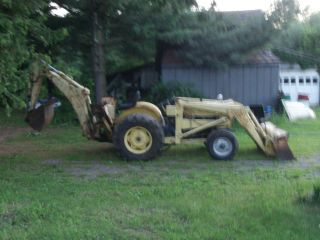 Ford 3400 Front Loader With Backhoe May Deliver photo