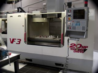 2000 Haas Vf - 3 Cnc Vertical Milling Machine, photo