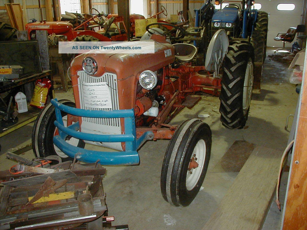 Ford Workmaster 601 Tractor Horsepower : Ford farm tractor workmaster series