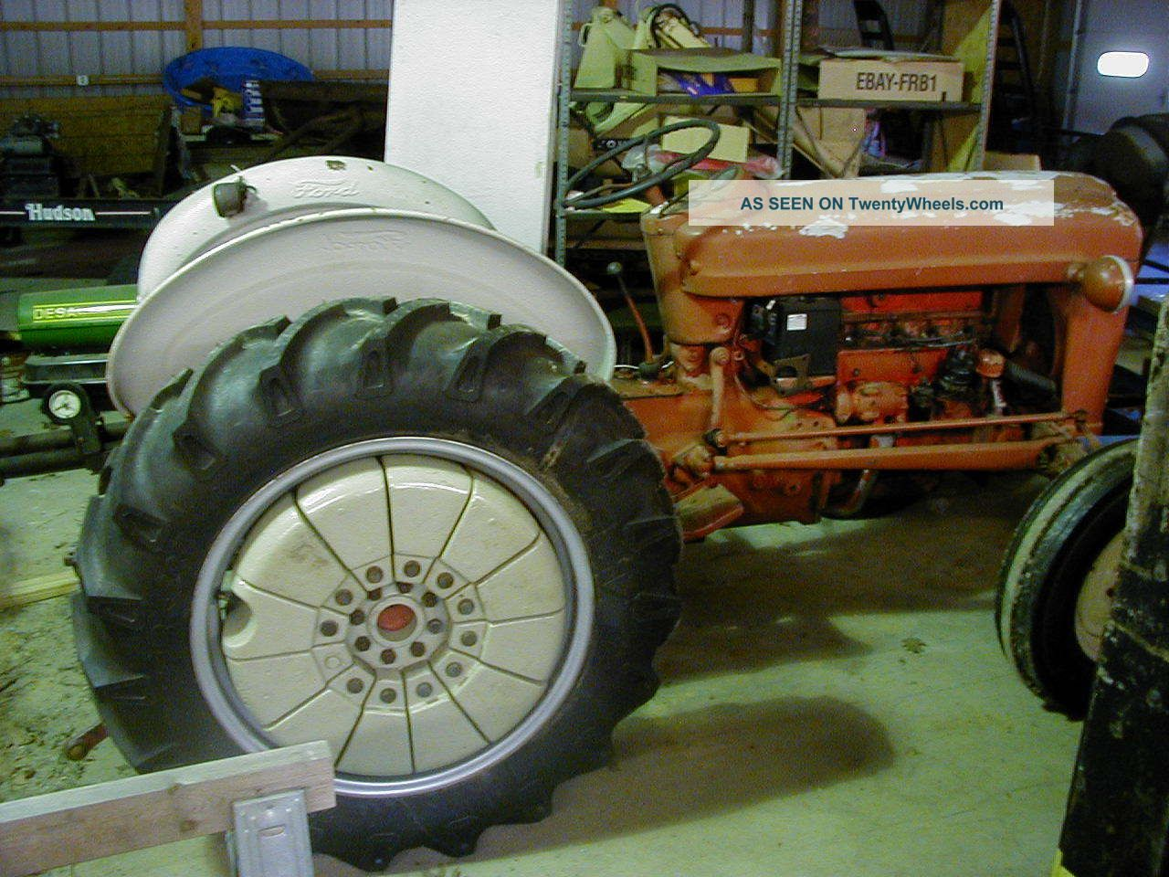 1960 Ford Tractor 601 : Ford workmaster tractor