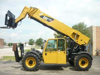 2007 Caterpillar Cat Tl1255 Reach Forklift Jlg Telehandler Full Cab Telescopic photo