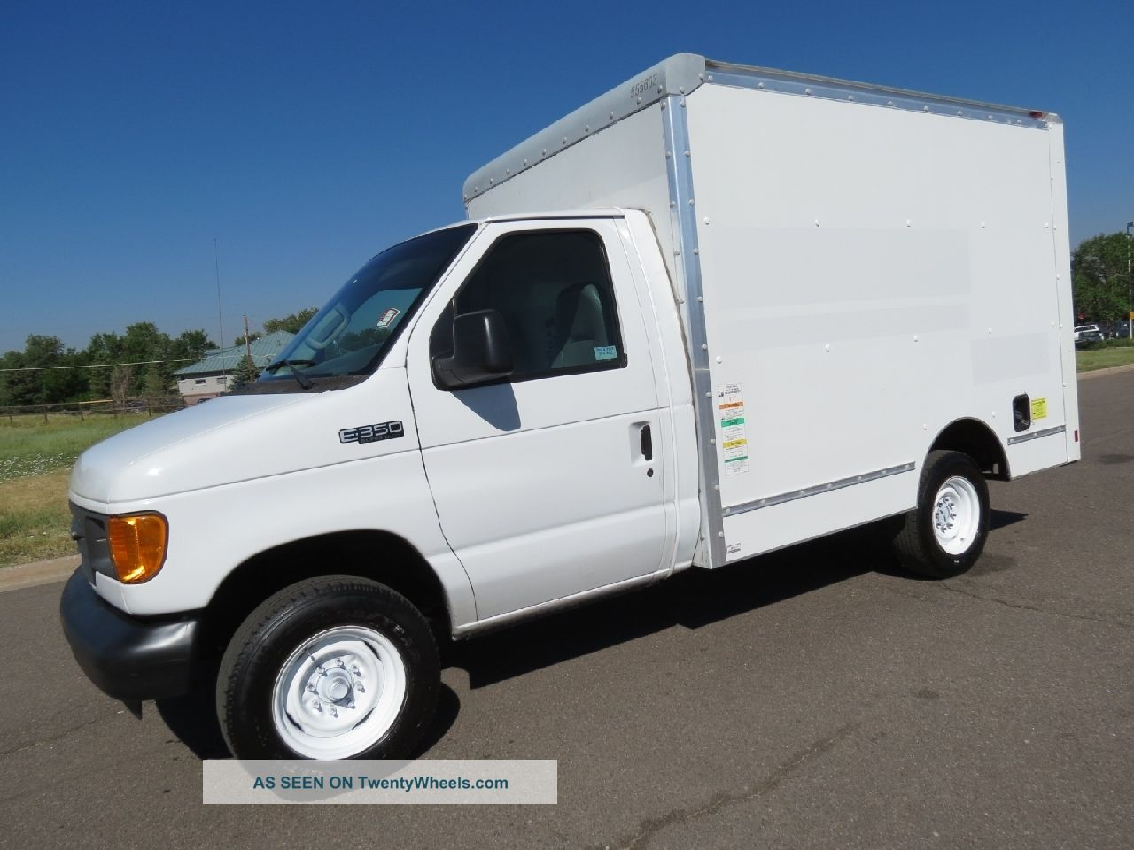 2005 Ford E350 Service Utility Work Van Delivery Box Truck 2006 Gmc W4500 Wiring Diagram