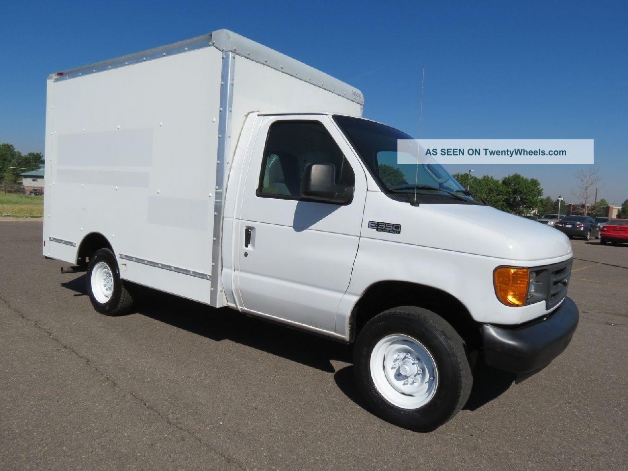 2005 ford e350 service utility work van delivery box truck. Black Bedroom Furniture Sets. Home Design Ideas