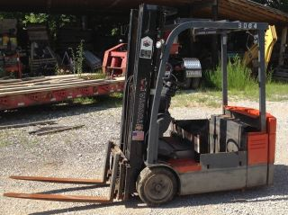 2008 Toyota Electric Forklift - Model 7fbeu15 Low Reserve photo