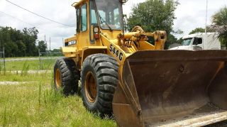 1995 John Deere 544g Wheel Loader photo